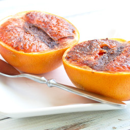 Spiced Broiled Grapefruit