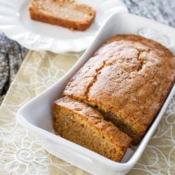 Spiced Cantaloupe Tea Loaf