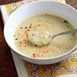 Spiced Creamy Broccoli Soup