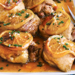 Spiced orange roast chicken