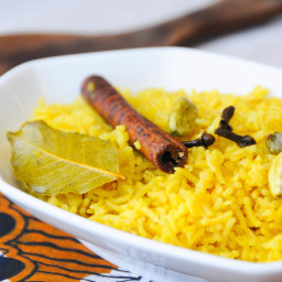 spiced pilau rice