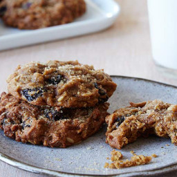 Spiced Pumpkin-Raisin Cookies