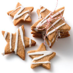 Spiced Star Cookies (Speculaas)