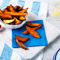 Spiced sweet potato with paprika and cayenne pepper recipe