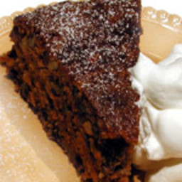 Spiced Walnut Carrot Cake with Pineapple