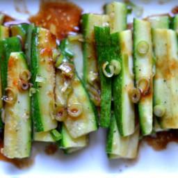 Spicy Asian Zucchini