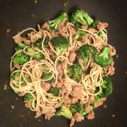 Spicy Broccoli with Sausage
