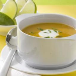 Spicy Butternut Squash Soup (Eating Well)