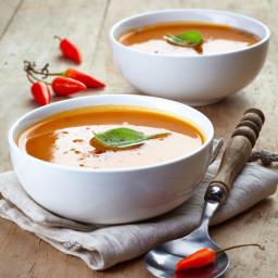Spicy Carrot Soup (Vegan)