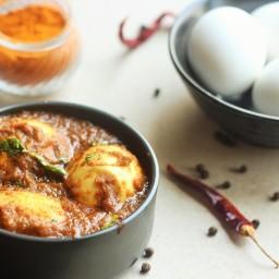 Spicy Chettinad Egg Masala Curry