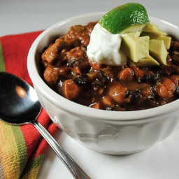 Spicy Chicken Chili for a Crowd