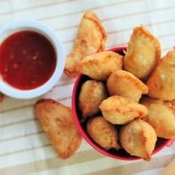 Spicy Chicken Samosas. My Take on Samosas