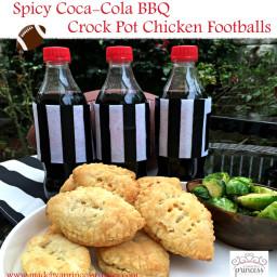 Spicy Coca Cola BBQ Crock Pot Chicken