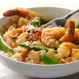 Spicy Coconut Shrimp with Quinoa Recipe