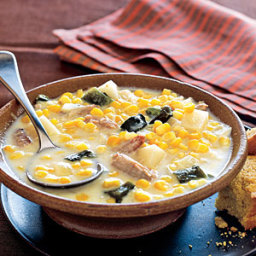 Spicy Corn and Crab Chowder
