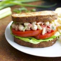 Spicy Dijon Chickpea Salad
