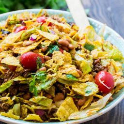 Spicy Doritos Taco Salad