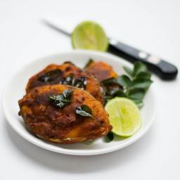 Spicy Fish Fry - Masala Fish Fry Tamilnadu Village Style