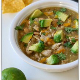 Spicy Green Chicken Chili