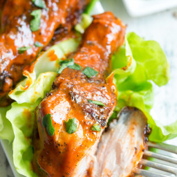Spicy Grilled Chicken Drumsticks {Paleo, Whole30}