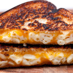 Spicy Grilled Mac And Cheese Sandwich