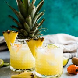 Spicy Habanero Pineapple Margarita