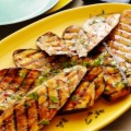 Spicy Hoisin Glazed Eggplant