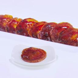 Spicy Honey Mustard-Glazed Pancetta