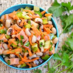 Spicy Hoppin' John Salad