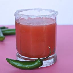 Spicy Jalapeño & Guava Margarita