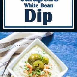 Spicy Jalapeño White Bean Dip