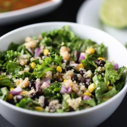 Spicy Kale and Quinoa Salad