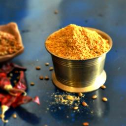 Spicy Kollu Podi Recipe, Kollu Paruppu Powder without Garlic