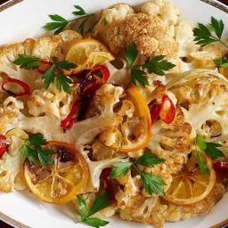 Spicy Lemon Cauliflower