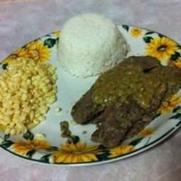 Spicy Lime-Cilantro Marinated Flank Steak