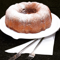 Spicy Mexican Chocolate Pound Cake