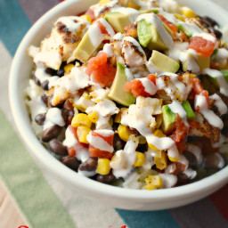 Spicy Mexican Tilapia Bowls