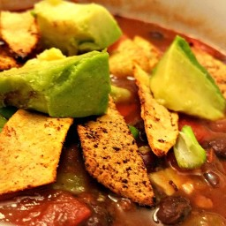 Spicy Mexican Tortilla Soup