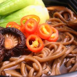 Spicy Miso and Mushroom Ramen