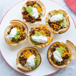 Spicy Muffin Tin Tacos