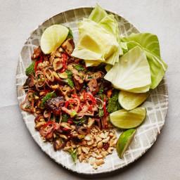 Spicy Mushroom Larb