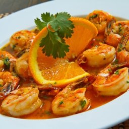 Spicy Orange Shrimp