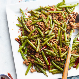 Spicy Pork and Green Bean Stir-Fry