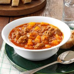 Spicy Potato Soup Recipe