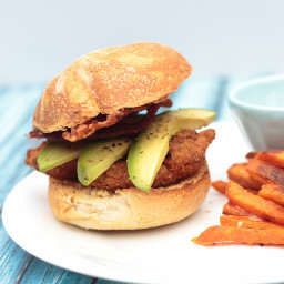 Spicy Ranch Bacon Avocado Chicken Sandwich