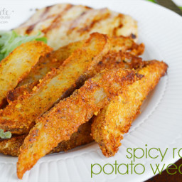 Spicy Ranch Potato Wedges