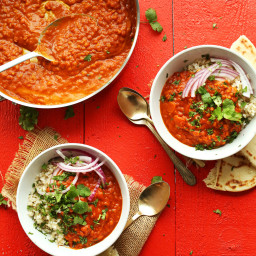 Spicy Red Lentil Curry