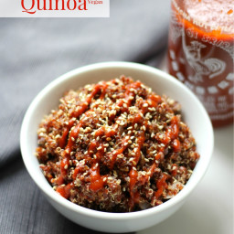 Spicy Red Sriracha Quinoa