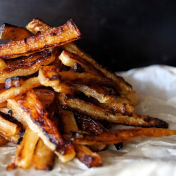 """Spicy Roasted Daikon """"French Fry"""" Recipe"""