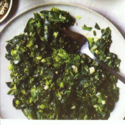 Spicy Sautéed Spinach